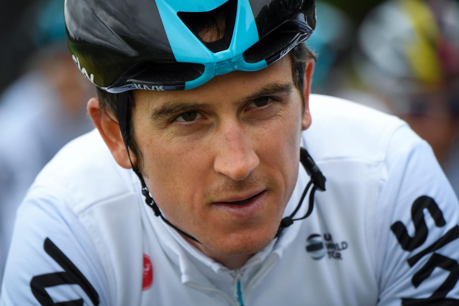 Tour De France 2017 Geraint Thomas Claims Yellow Jersey