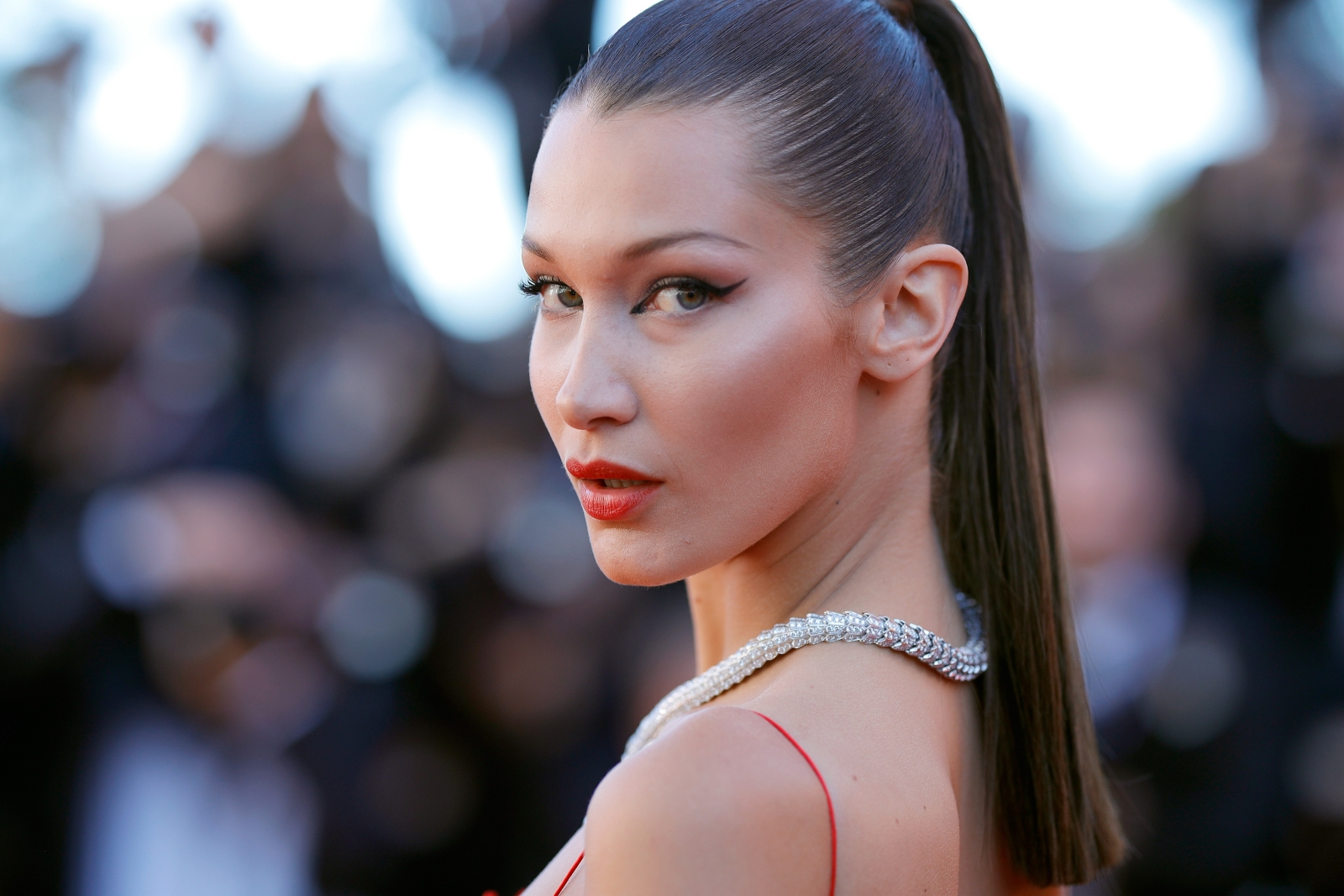 Bella Hadid Branded Shameless By Fans For Posing Topless