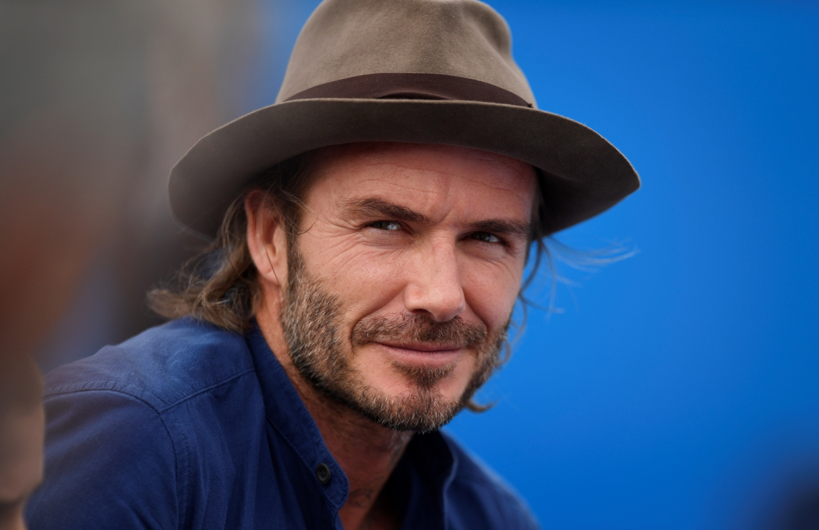 David Beckham defends inappropriate kiss with daughter Harper