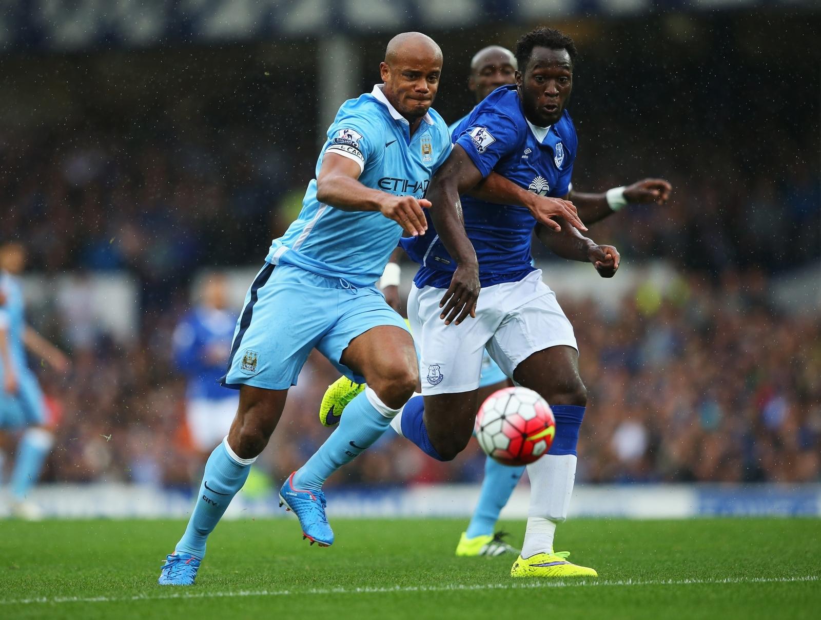 Vincent Kompany praises Manchester United new boy Romelu Lukaku