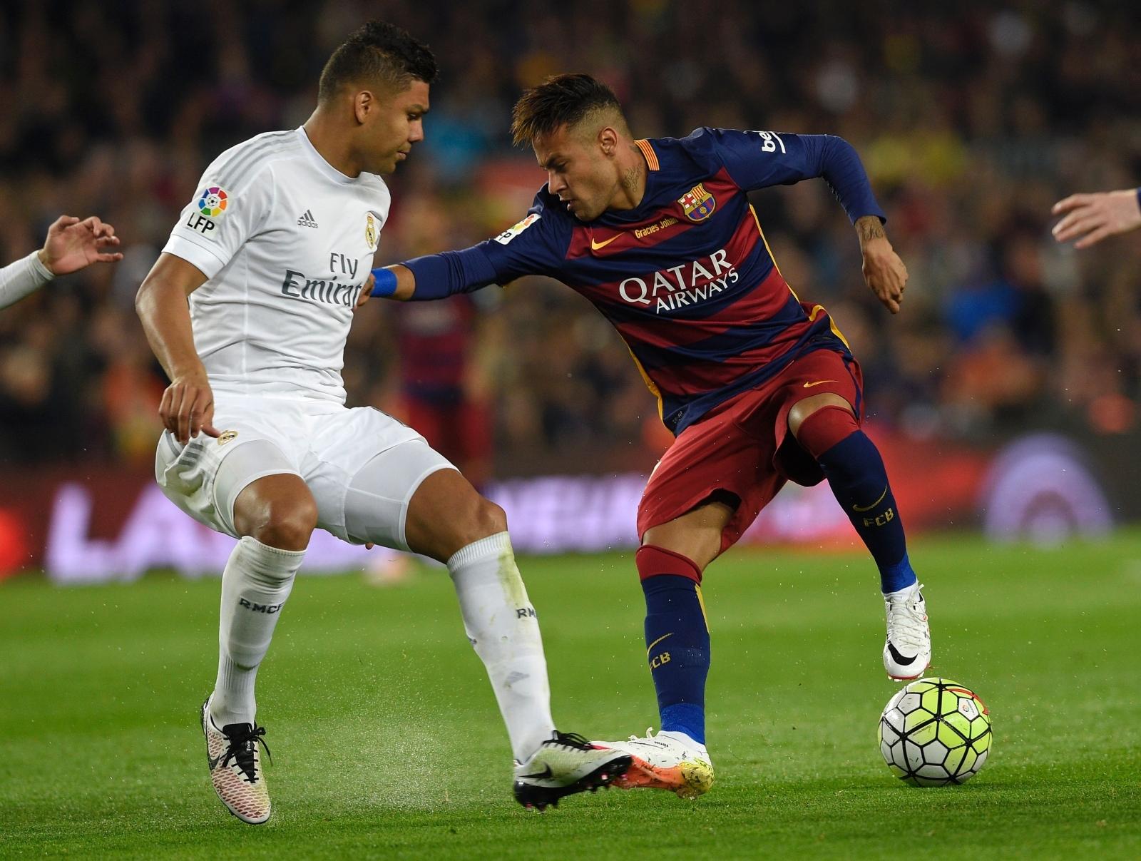 Casemiro would wel e Neymar making a shock move from Barcelona