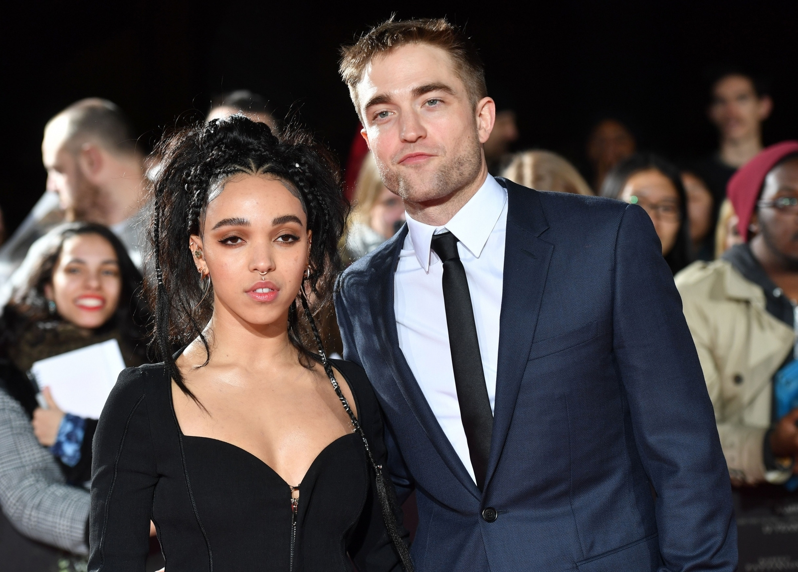 Robert Pattinson gushes over 'amazing' girlfriend FKA Twigs after confirming engagement