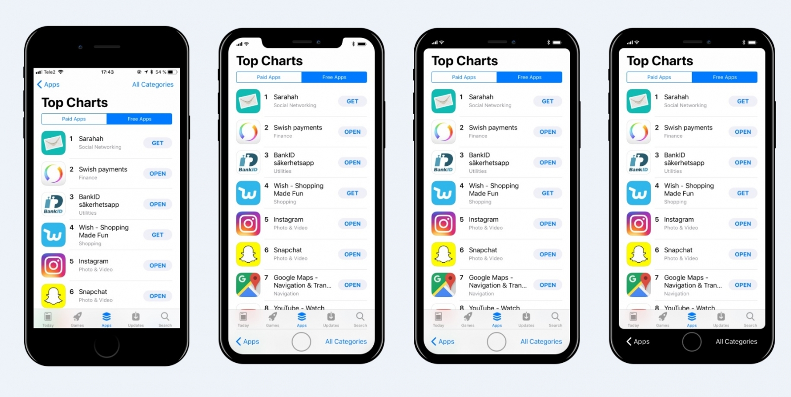 Is this what the iPhone 8 apps will look like? Renders ...