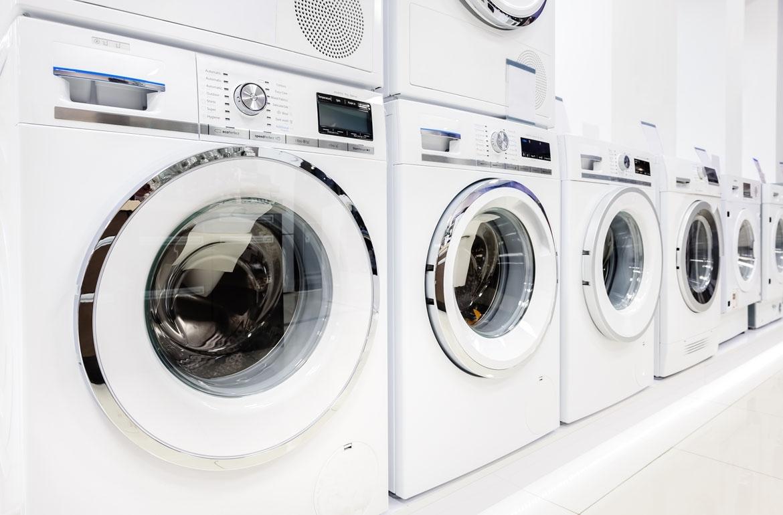 clean up washing machine