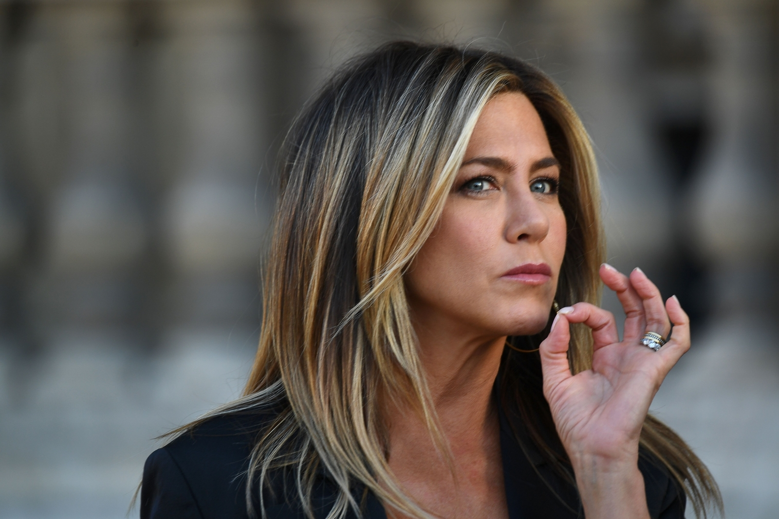 'It's just the way my breasts are': Jennifer Aniston addresses Rachel's nipple display in Friends