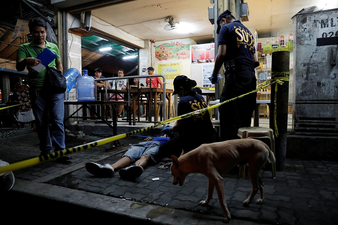 Philippines police kill 60 people in three days in Duterte