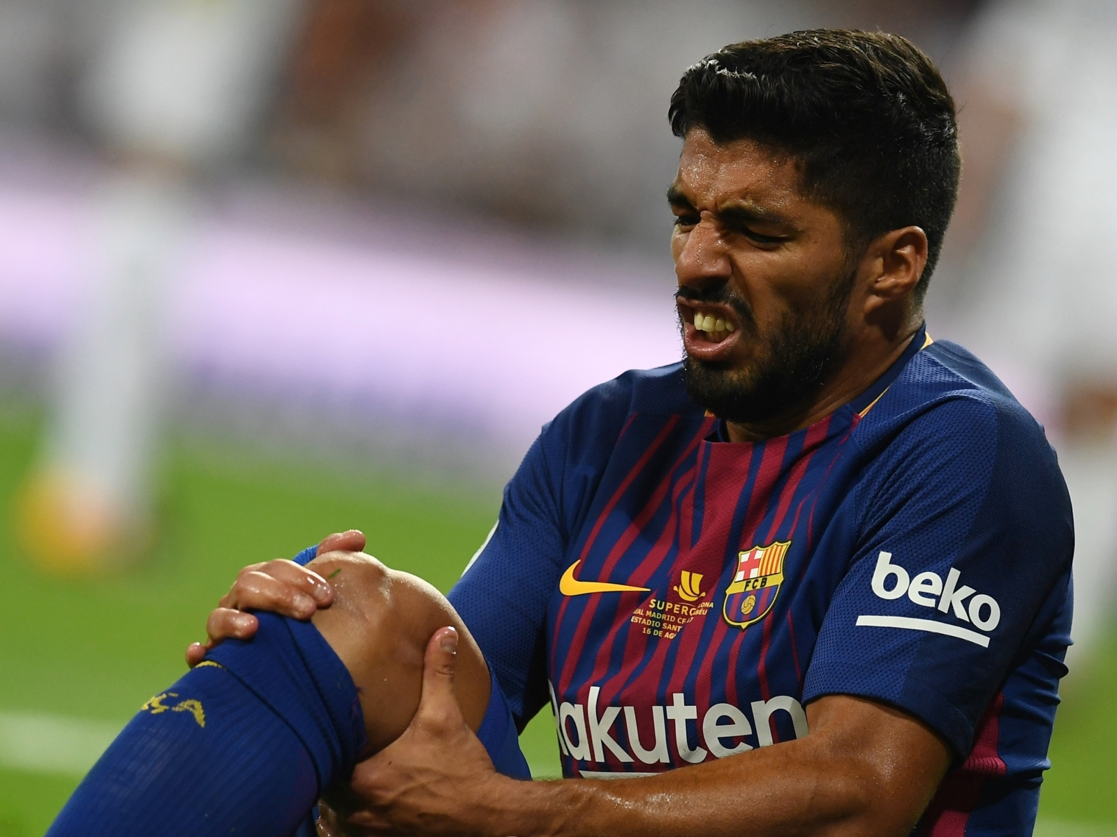 Barcelona star Luis Suarez may require surgery to remove cyst on