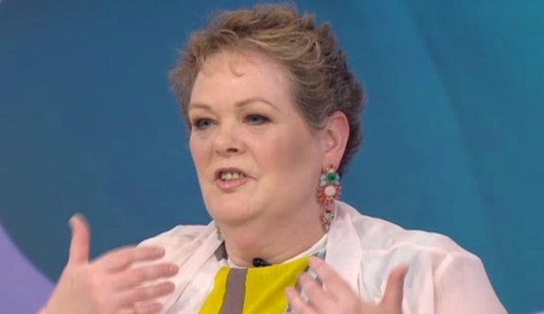 You won't recognise The Chase's Anne Hegerty after her girly Loose Women makeover