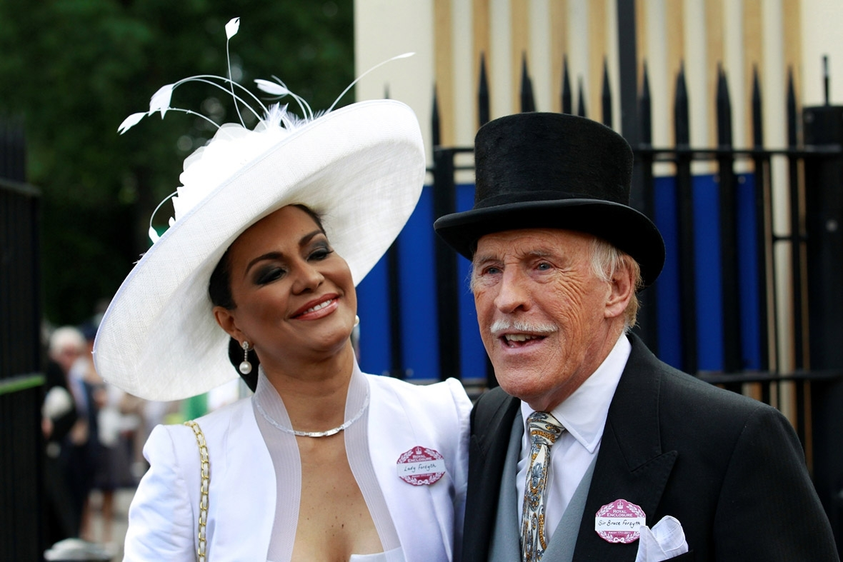 Bruce Forsyth had a disturbing premonition about his brother's death in a plane crash