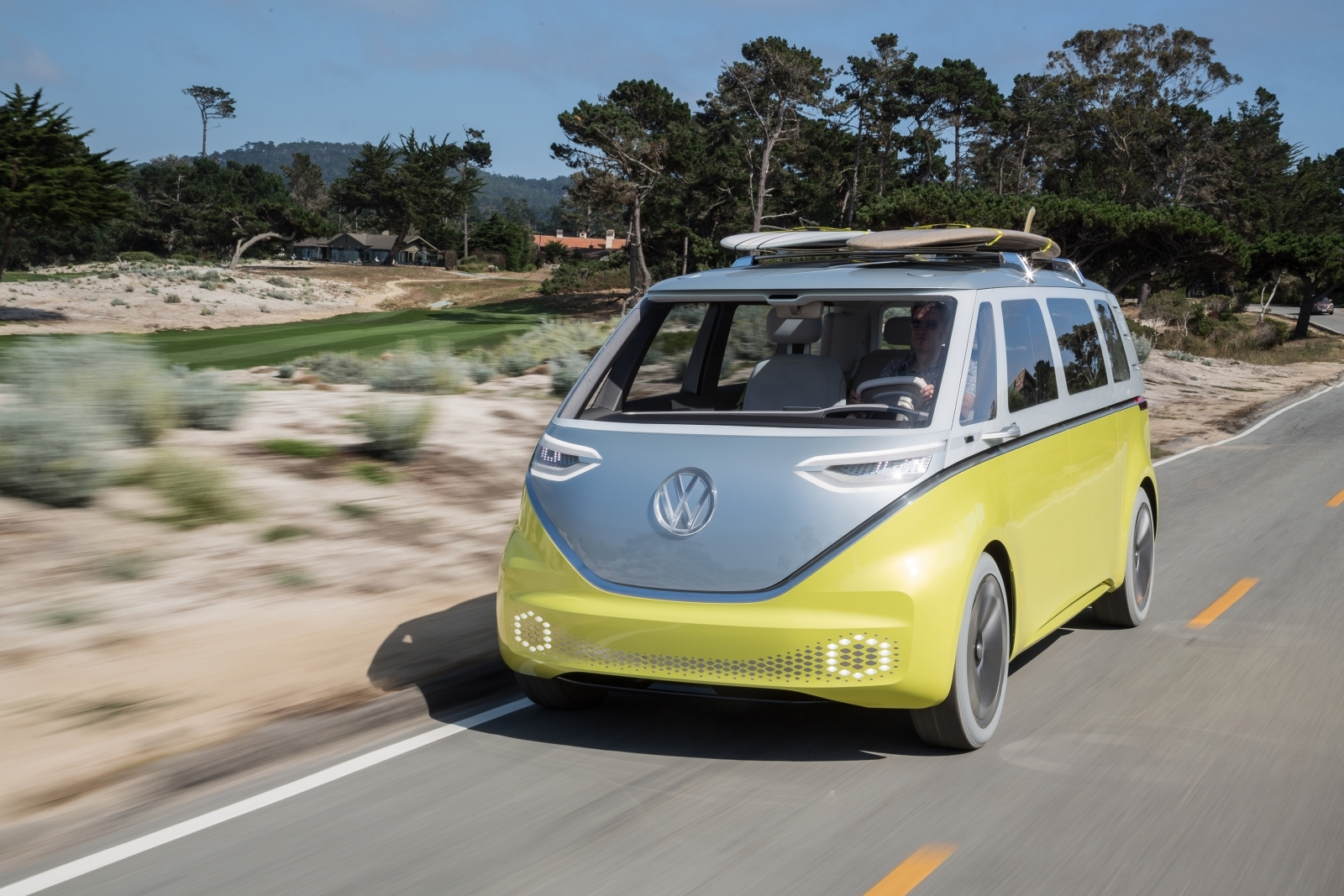 Iconic Vw Campervan To Make Electric Comeback As Id Buzz