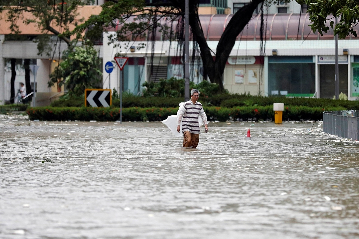 Hong Kong Flooding