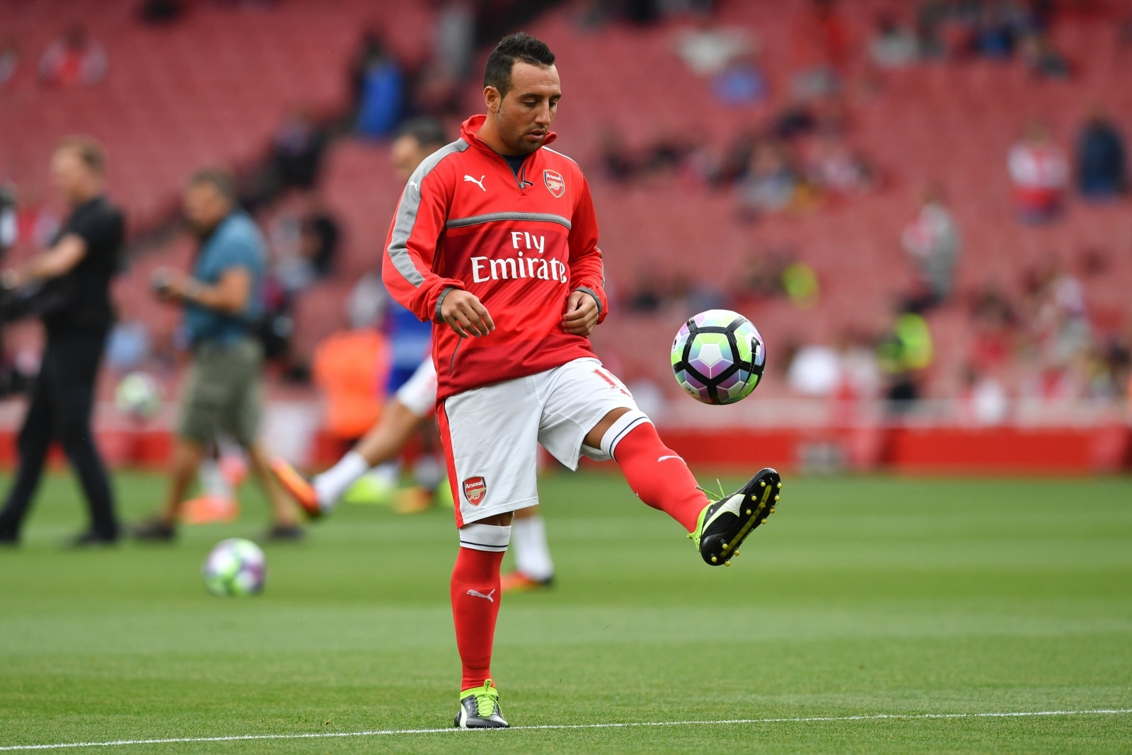 Arsenal leave injury plagued Santi Cazorla out of 25 man Premier