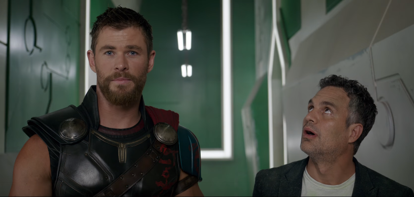 Thor: Ragnarok's Chris Hemsworth, Mark Ruffalo and Taika Waititi are the goofiest 90s boy band
