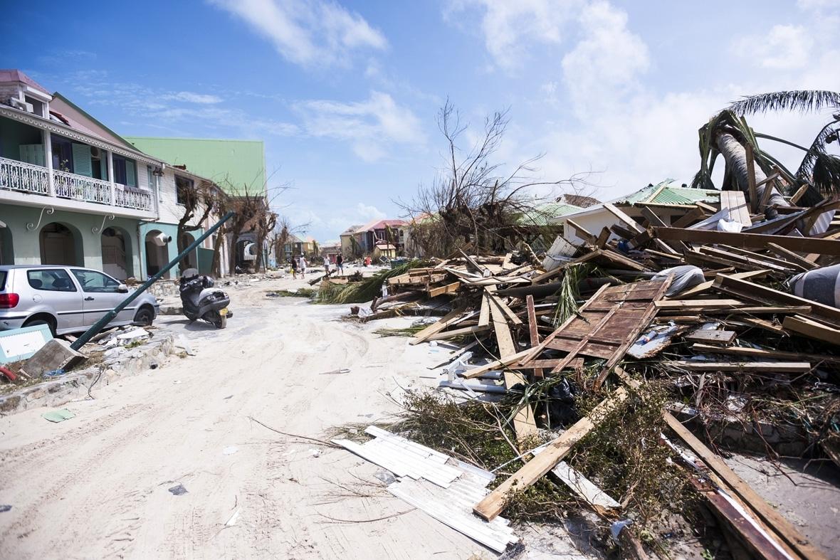 Latest Photos From Caribbean Island Of Saint Martin Show Incredible Power Of Hurricane Irma