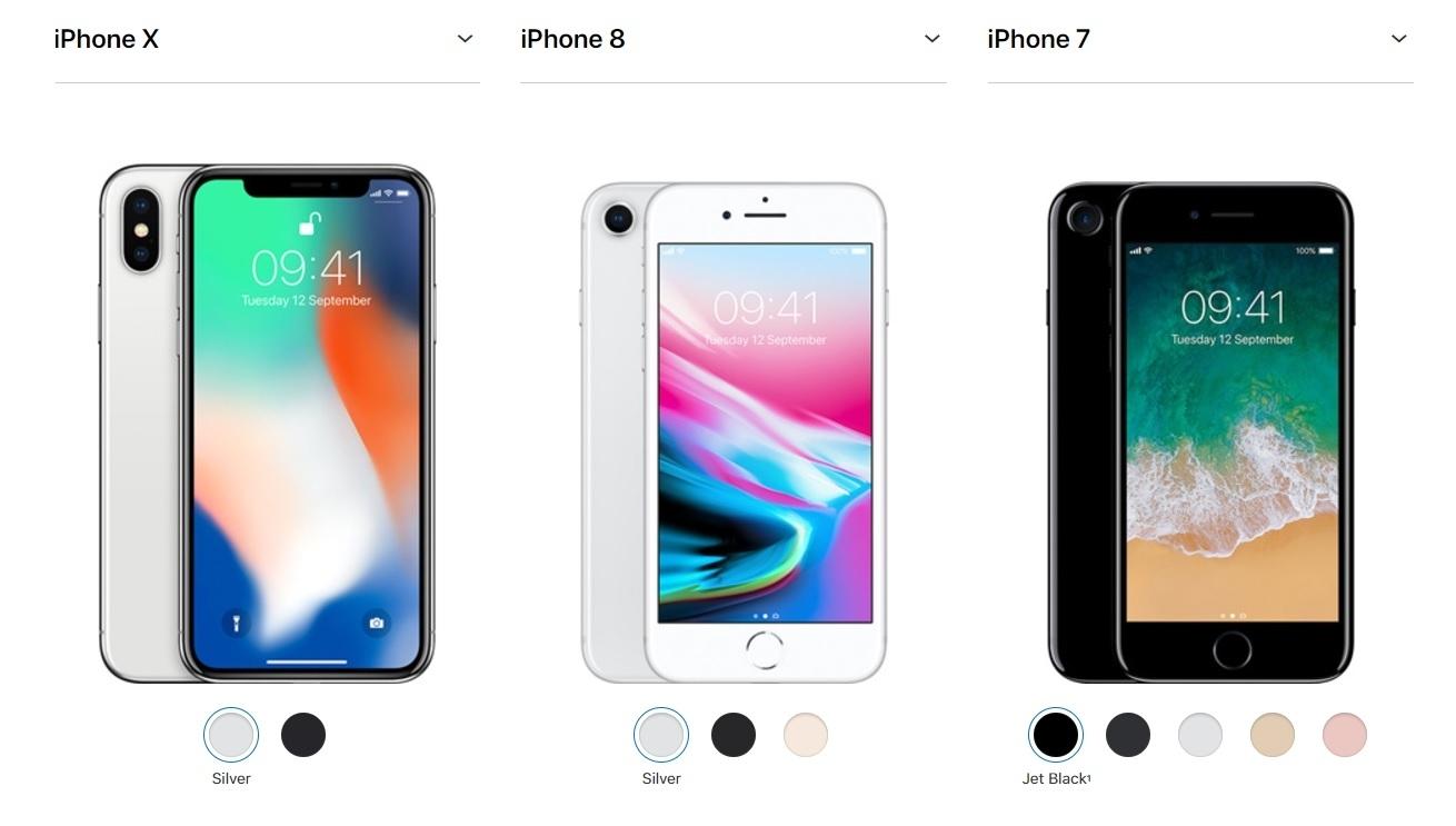 Comparar Iphone 7 Vs Iphone 8