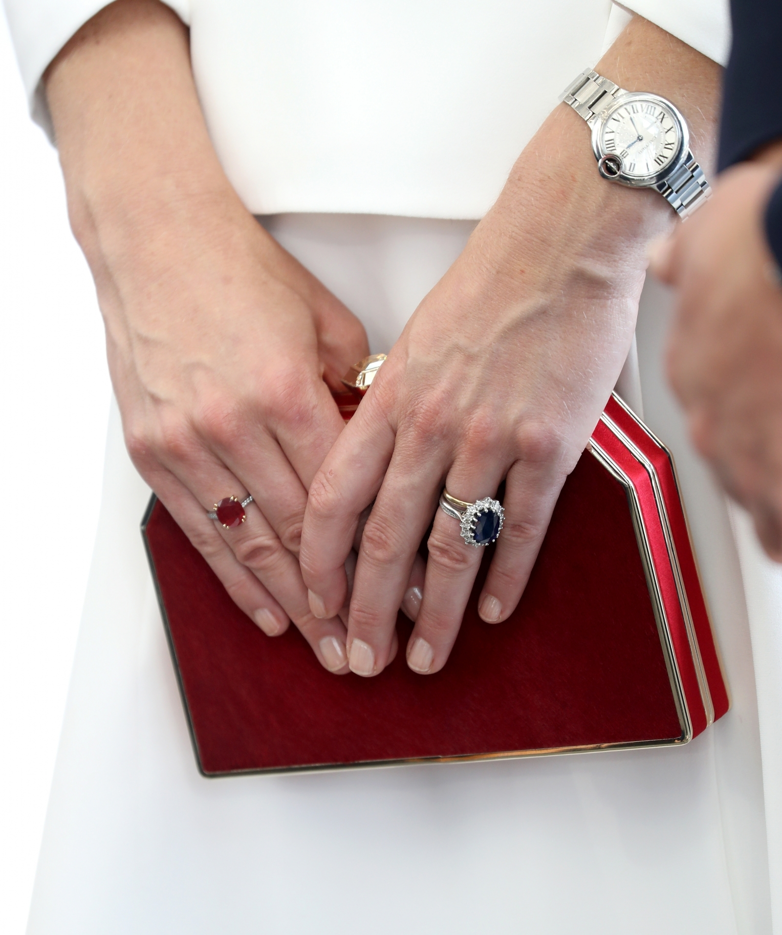Wedding Ring Binding Hands