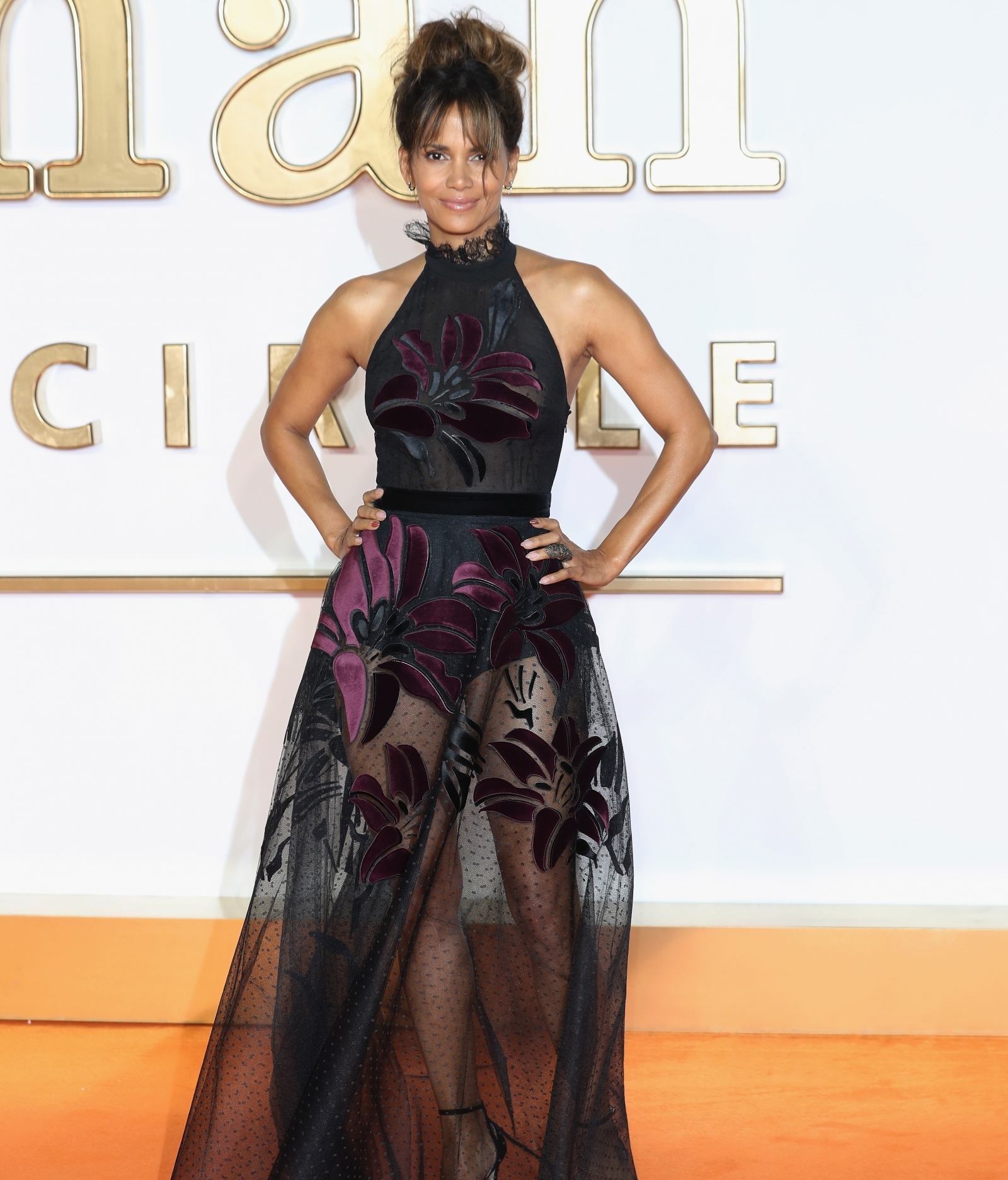 Ageless Beauty Halle Berry Flaunts Her Peachy Derriere