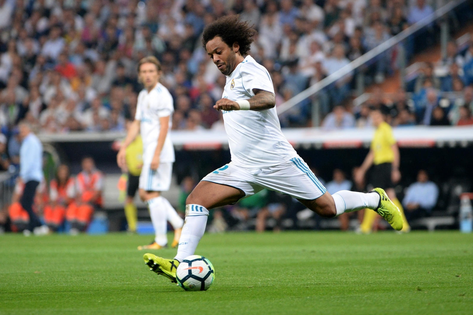 Marcelo injury adds to Real Madrid woes after shock 1 0 defeat to