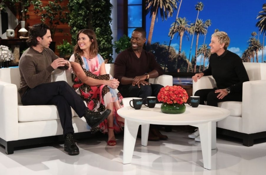 Sterling K Brown explains why he won't flash his butt in This Is Us