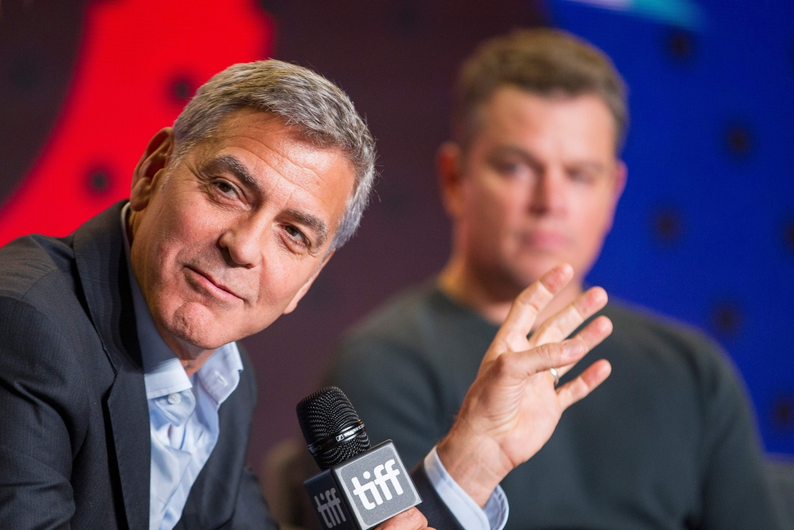George Clooney slams Trump for 'Hollywood elite' remarks