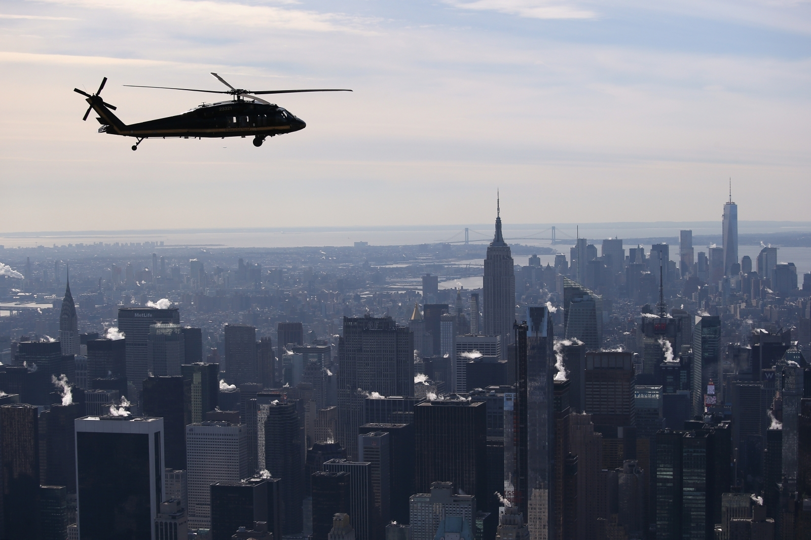 Drone Almost Causes Catastrophic Incident By Crashing Into Military Helicopter Over New York City