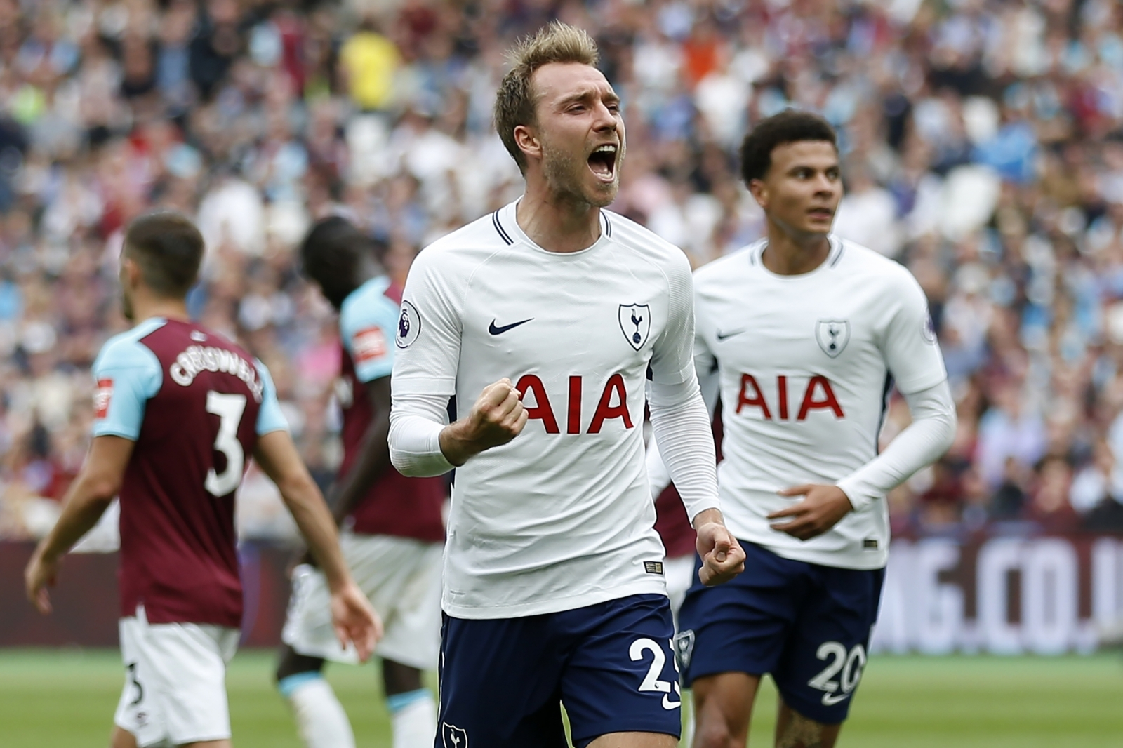 Eriksen: New Chapter At Wembley - Spurs Web - Tottenham ...