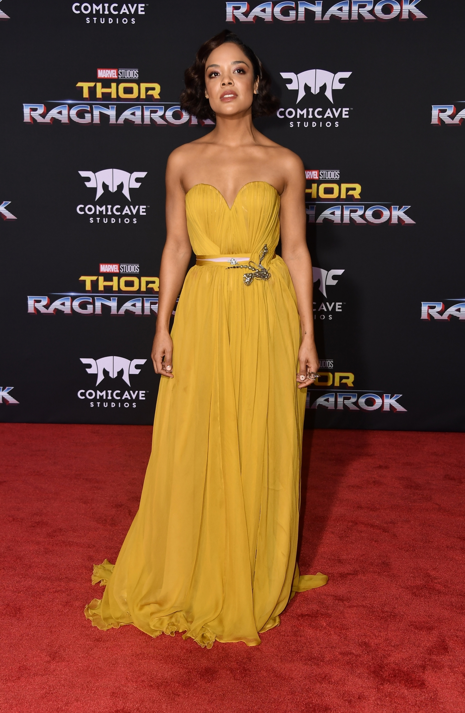 Thor: Ragnarok stars Cate Blanchett and Tessa Thompson make heads turn at red carpet premiere