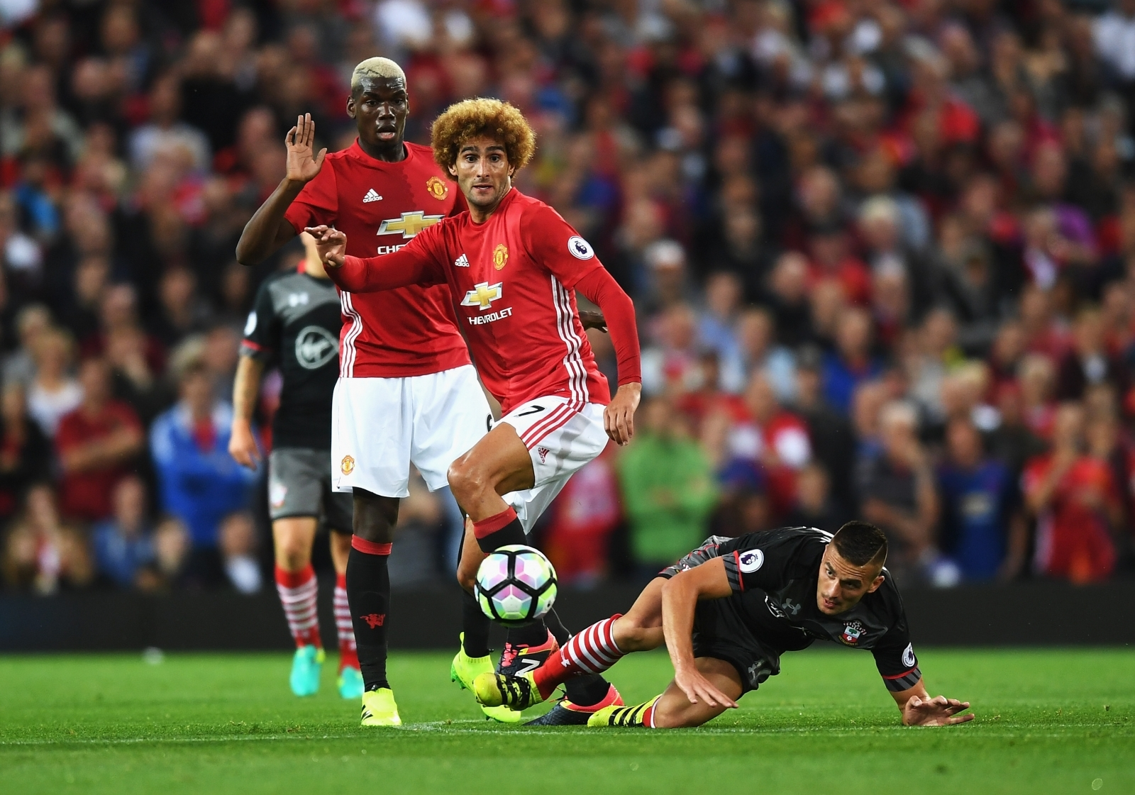 Manchester United without Paul Pogba Marouane Fellaini and