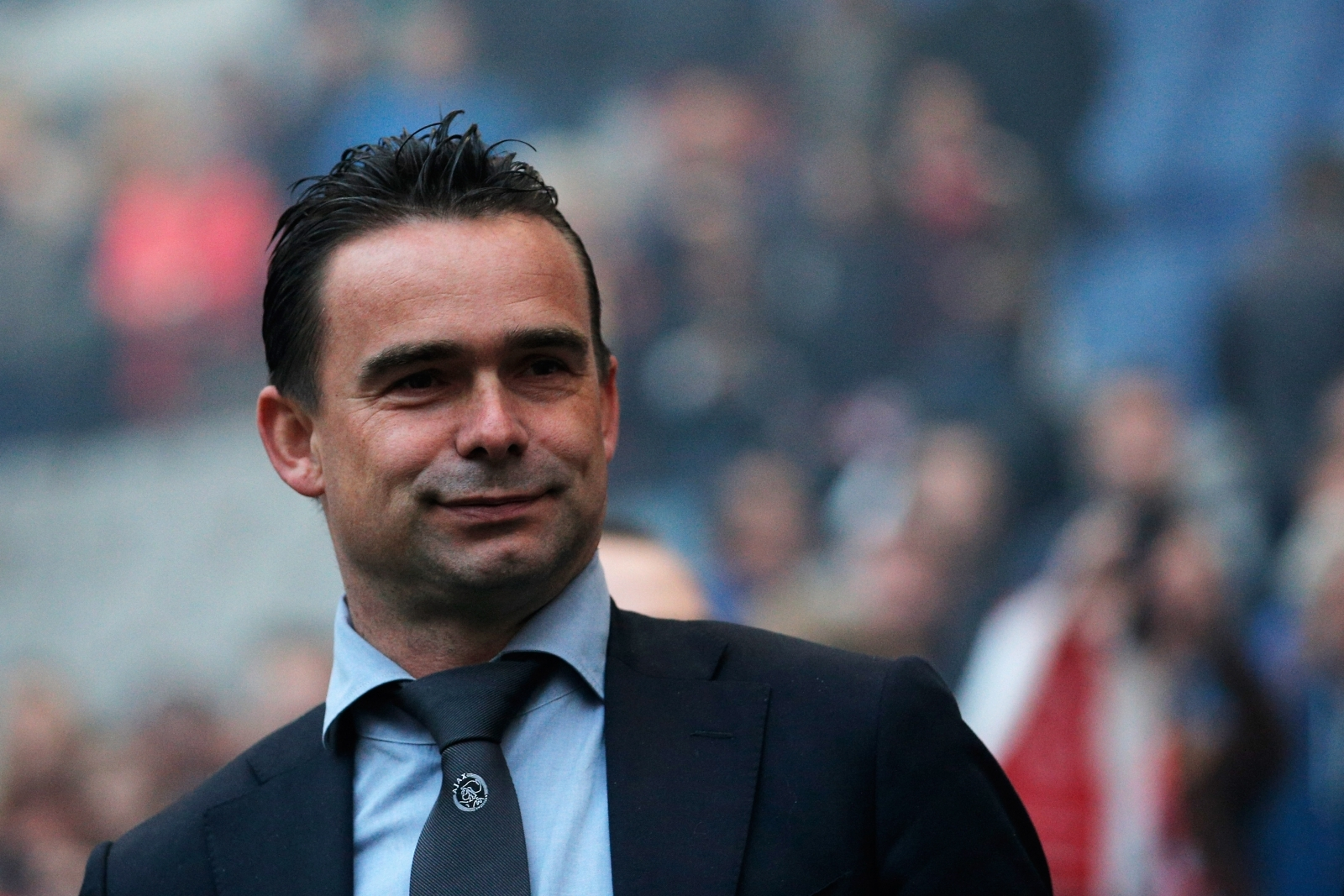 Marc Overmars denies speculation linking him with a move to