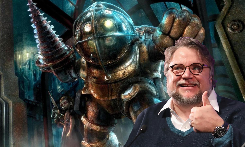 Guilhermo Del Toro with regard to guillermo del toro says he would 'love' to make a bioshock movie