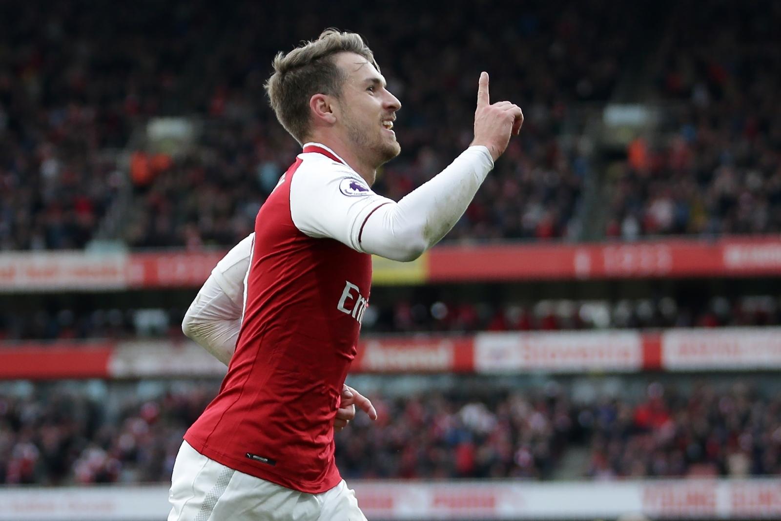 Arsenal midfielder Aaron Ramsey fit for Tottenham clash despite