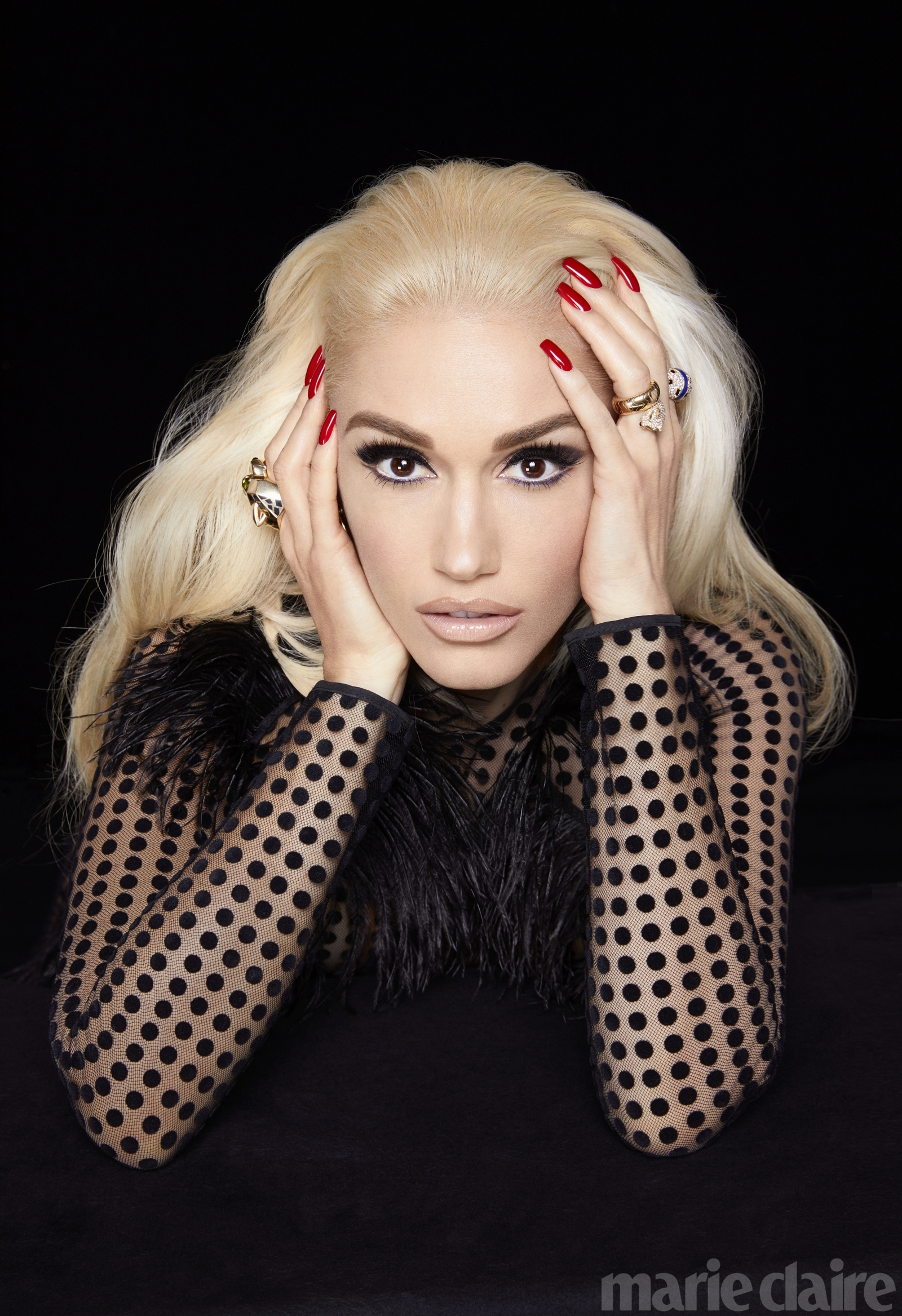 Blake Shelton Gwen Stefani >> Gwen Stefani opens up about Gavin Rossdale heartbreak in stunning Marie Claire shoot
