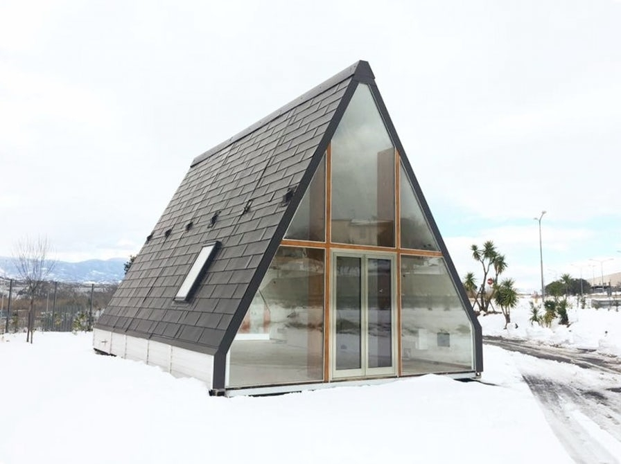 Earthquake proof house can fold in half and cost as little as 19 000 - Ikea casa prefabbricata ...