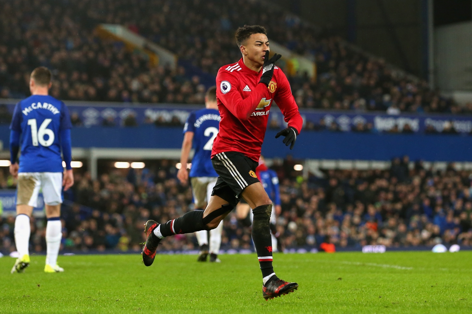 Anthony Martial And Jesse Lingard Strike As Manchester