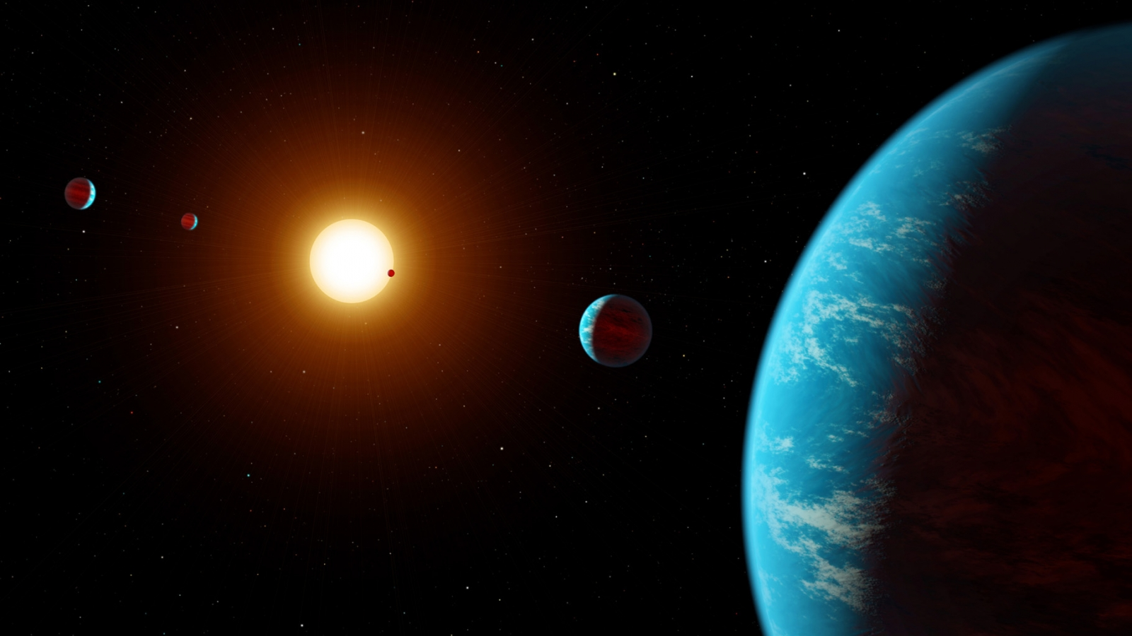 Five New Alien Super Earth Exoplanets Found 620 Light