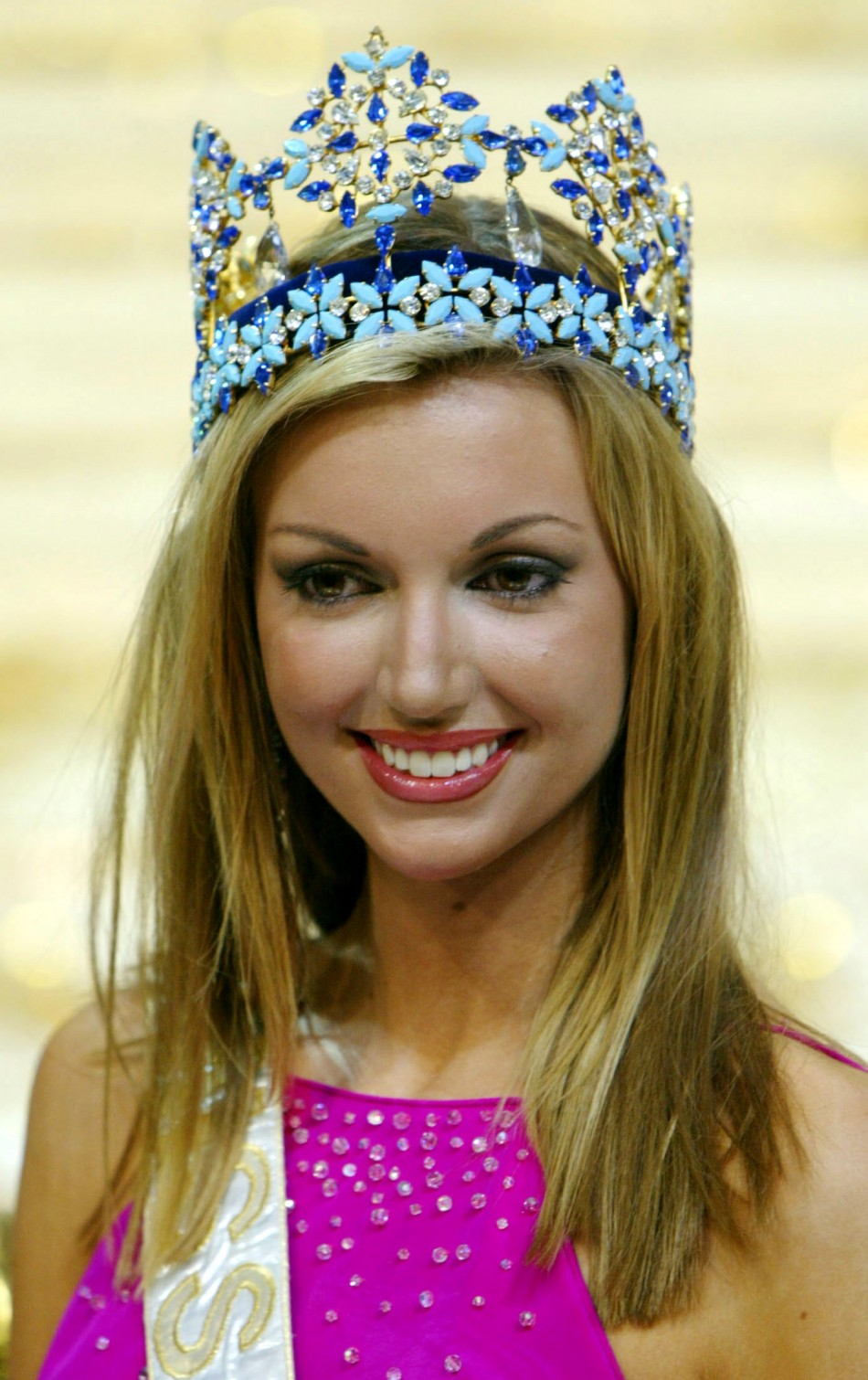 Miss World 2010. After Gina Tolleson in 1990, she was the first Miss ...