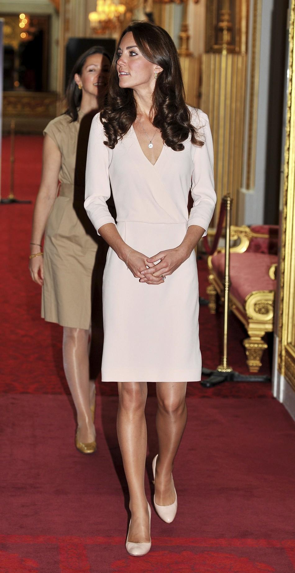 Kate Middleton Powers Winter Hosiery Sales Photos