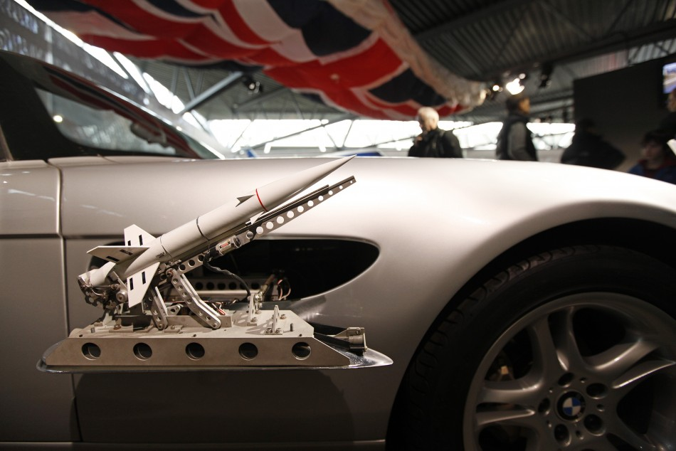 James bond vehicle exhibition organised to celebrate 50 for What is a motor vehicle bond