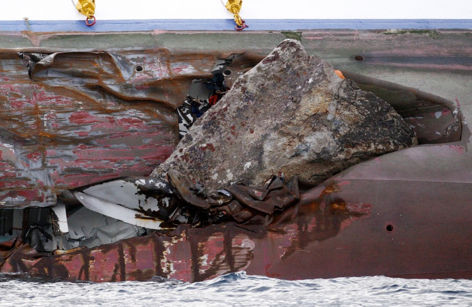 Italian Cruise Ship Tragedy: Inside the Costa Concordia [LATEST PHOTOS]