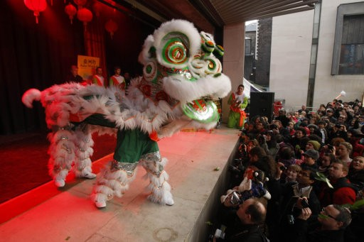 Lion Dancing Ireland Watch a Chinese Lion Dance