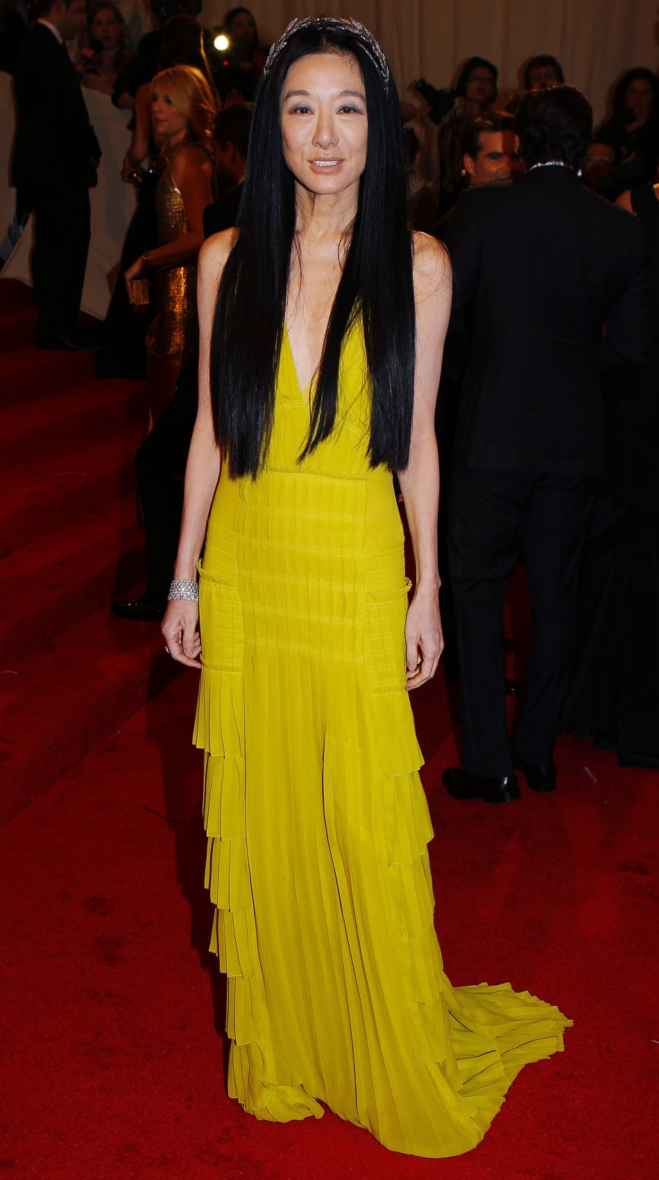 Designer Vera Wang Looks Stunning In Swimsuit Photoshoot