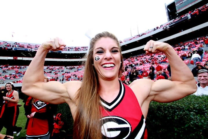Anna Watson: Photo Diary of a Muscle-Bound Cheerleader