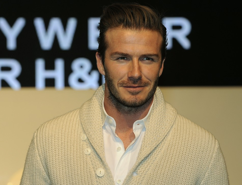 1 david beckham Top 10 Celebrity Hunks 2014