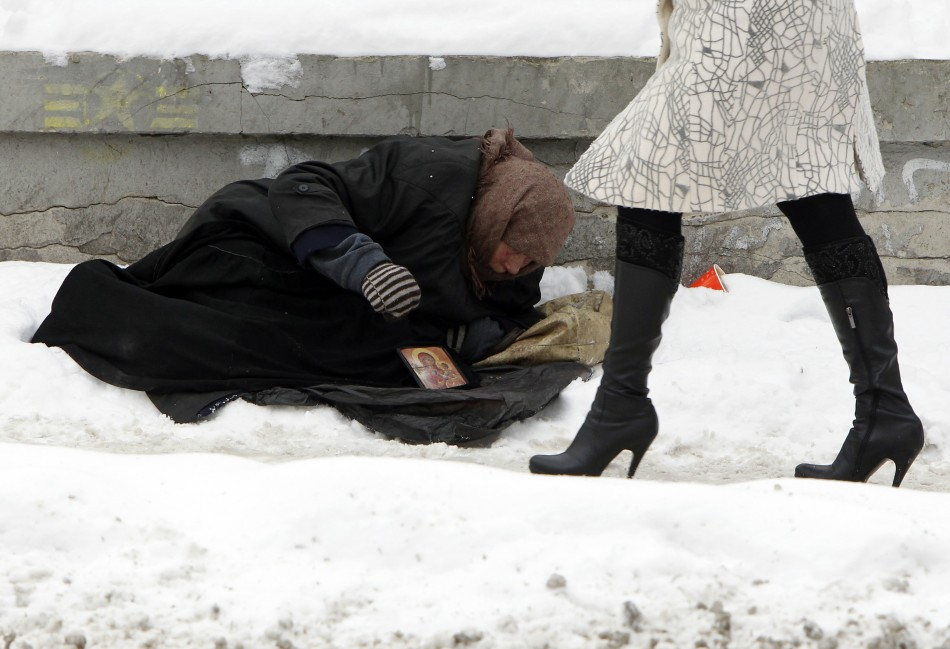 homeless in ukraine The bitter cold snap in eastern europe which has killed scores of people has particularly hit the region's homeless population very hard in the former soviet republic of the ukraine, more than .