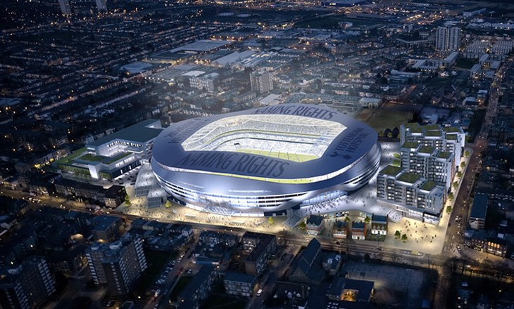 Spurs New Stadium