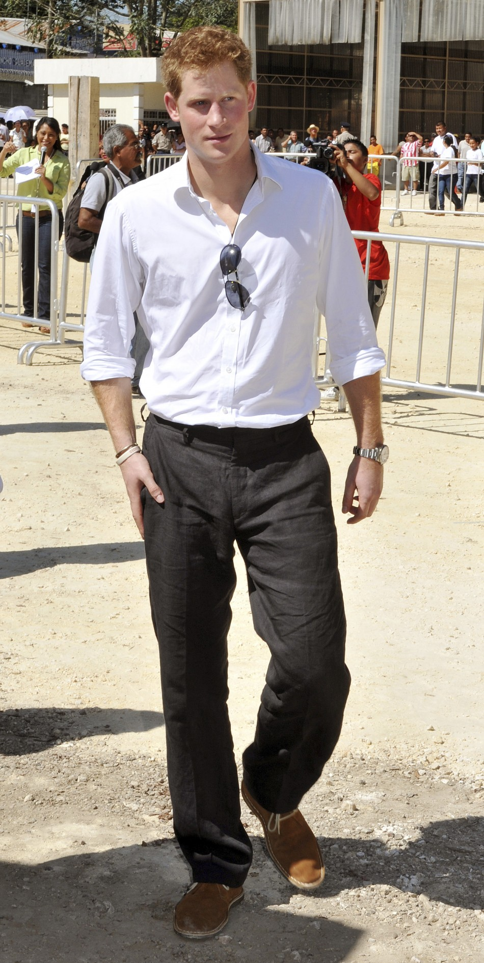 Fashion Focus: Prince Harry's Caribbean Style