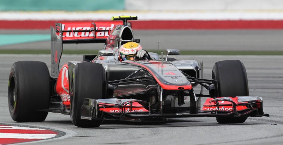 2012 Formula 1 Petronas Malaysian Grand Prix: Driver ...