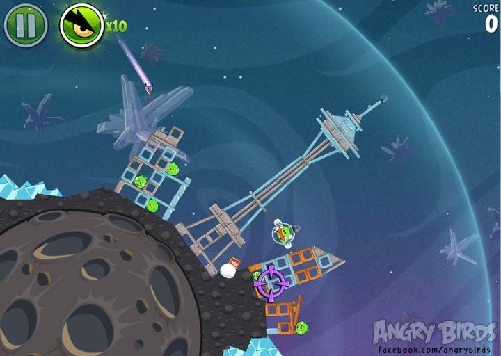 Angry Birds Space Is Rocking Space Needle Coming Soon