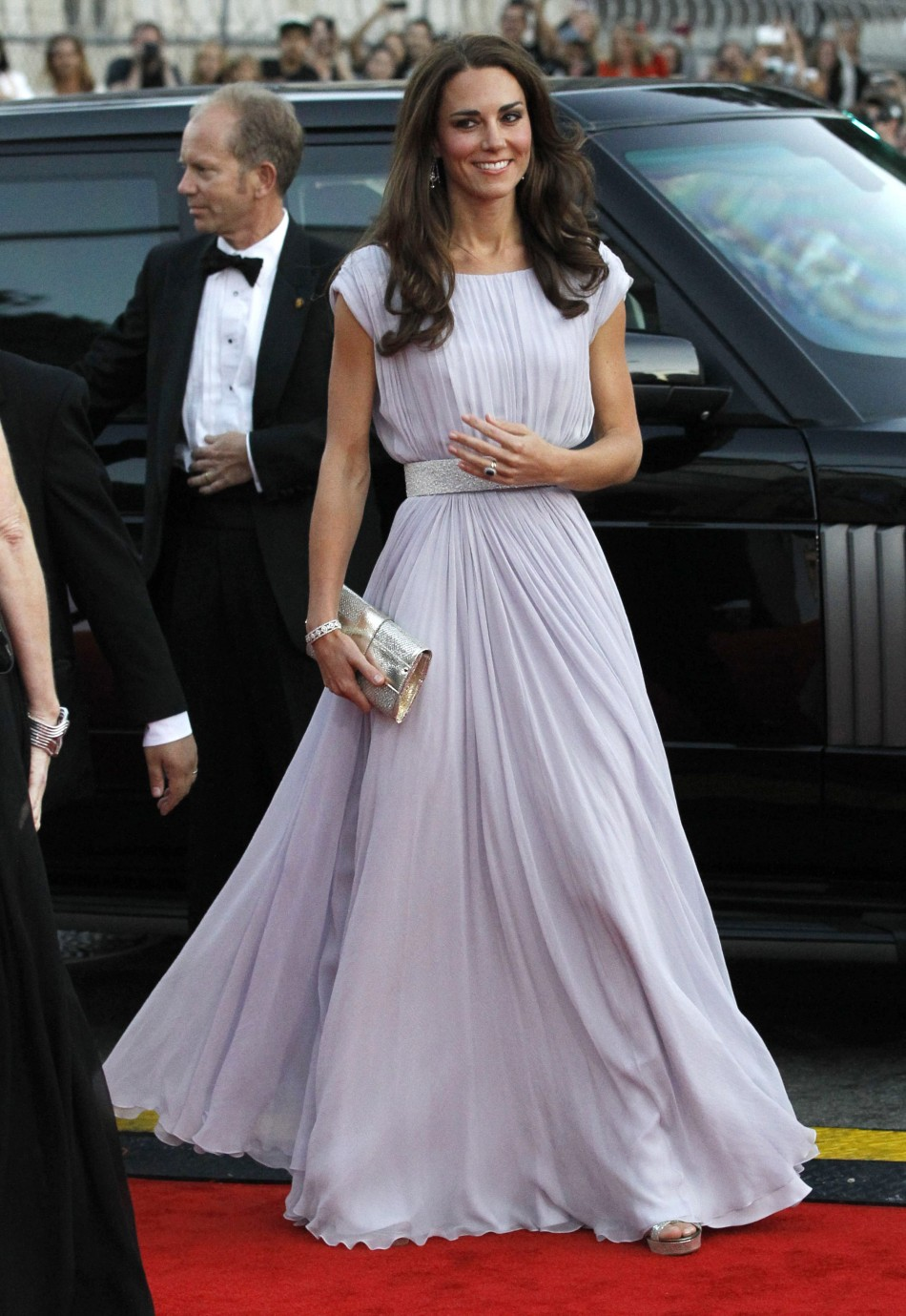 Catherine, Duchess of Cambridge, arrives at the BAFTA Brits to Watch event in Los Angeles