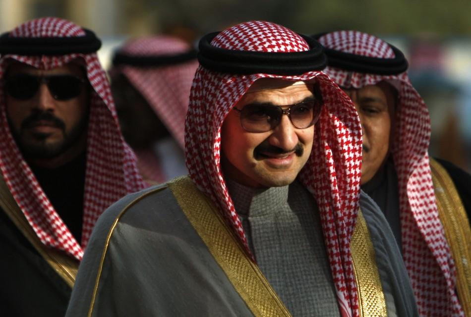 Saudi Prince Alwaleed Bin Talal Alsaud - Net Worth  $18 B